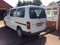 Toyota Hiace Minibus Wheelchair Accessible Vehicle