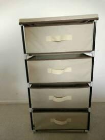 Canvas chest drawer