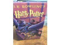 Harry Potter hardback's