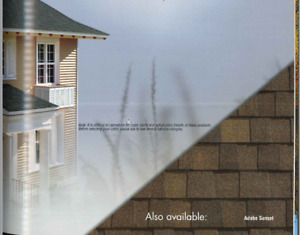 Shingles on sales! GAF AMERICAN HARVEST