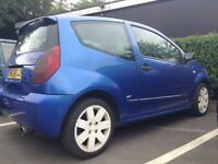 2004 Citroen C2 GT Turbo Limited Edition Number 1271. Rare Car Not 16v VTS Clutch Gone