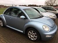 VW beetle, 99k, '03, New MOT