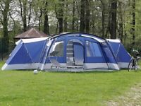 Skandika Nimbus 12 Family Tent, only used for three 1 week holidays, Look at Pictures..