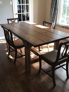 Handcrafted Rustic dining tables