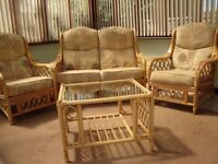 2 Seater, 2 Chairs and Table Conservatory Furniture