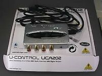 Behringer U-Control UCA202 audio interface