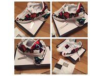 Gucci Girls Women Female Ladies Trainers Sneakers Shoes Footwear Size 5 & 6