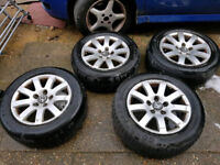 """15"""" 5X112 PASSAT A4 ALLOY WHEELS VW AUDI GOLF MK5 A3 A4 A5 MERCEDES SPORT"""