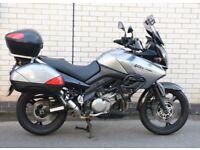 Suzuki DL 1000 Vstrom Adventure style motorcycle