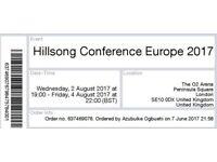 Hillsong Europe 2017 Tickets