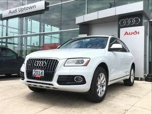 2014 Audi Q5 TDI Progressiv W/NAVIGATION & PANORAMIC ROOF