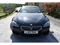 BMW 640D M SPORT 2 DOOR COUPE 2012 MODEL + BEAUTIFUL THROUGHOUT+ OVER 75K NEW!