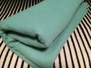 COUVERTURE VINTAGE RETRO MID CENTURY BLANKET 50's 60's CAMPING