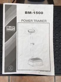 Vibrating power trainer