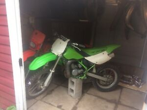 Kx100 with fresh motor not even a hour