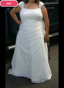 Wedding dress plus size