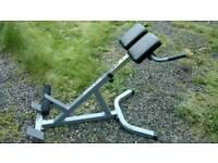Lower back machine hyper-extension Roman chair 45°