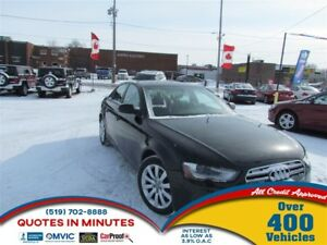 2013 Audi A4 2.0T   LEATHER   NAV   HEATED SEATS   MUST SEE