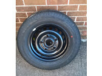 Transit Custom Spare Wheel and Tyre 16""
