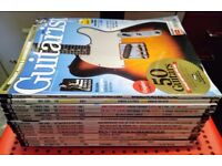 14 Guitarist Magazines mostly from 2004