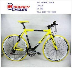 Brand New aluminium 21 speed hybrid road bike ( 1 year warranty + 1 year free service ) vbt6