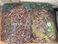 Garden Bark - Softwood chips Natural 7x100L £40