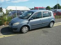 Blue Automatic Renault Scenic for sale