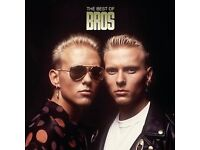 2 x Bros Tickets, London 02 Sunday 20th August