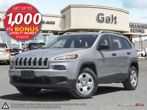 2015 Jeep Cherokee SPORT | 4X4 | ONLY $149 BI-WEEKLY*