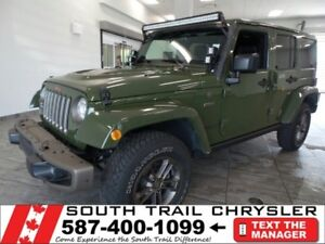 2016 Jeep Wrangler Unlimited SAHA LOWEST 75TH EDITION IN MARKET!