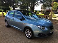 SEAT IBIZA 1.4 SE, 1 Owner from new, Full Service History, Immaculate all round (blue) 2009