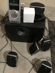 Logitech Speakers + Sub