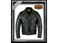 MEN'S NEW COWHIDE 100% LEATHER JACKET
