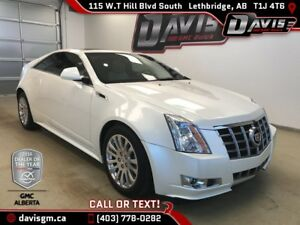 Used 2012 Cadillac CTS Coupe-AWD, Heated/Cooled Leather, Sunroof