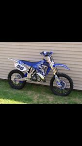Looking for blown up 2 stroke dirt bikes