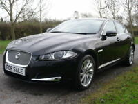 Jaguar XF D V6 Premium Luxury AUTO (BLACK) 2013/13 (black) 2013