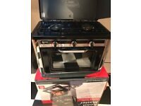 Roast Master, portable double gas hob and oven