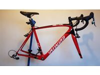 Specialized Tarmac SL4 Frame with Partial SRAM Force Groupset.