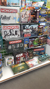GREAT SELECTION OF POP CULTURE BOARD GAMES AT THE GAME MD