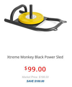 Reduced for fast sale- Xtreme monkey power sled + harness
