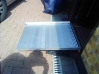 Enigma folding ramp approx - suitable for wheelchair/pram etc up to 300kg swl