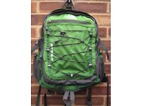 North Face Borealis Laptop Compatible Rucksack in Green