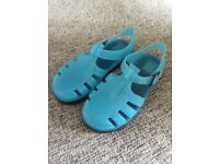 Young Boys Size 9 Blue Next Jelly Sandals