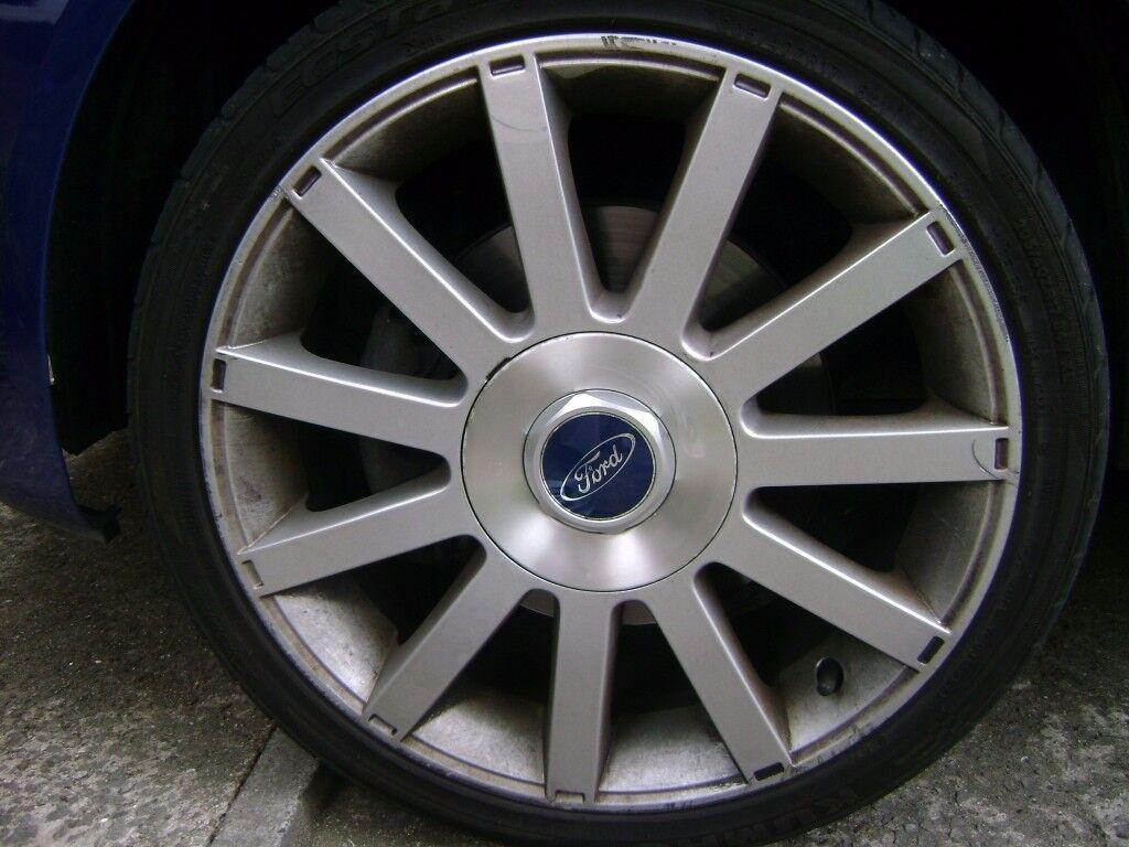 Fiesta st150 mk6 alloy wheels