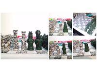 Original handmade Chess Set from Guatemala and Peru