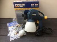 POWERCRAFT ELECTRIC SPRAY GUN KIT 100w BNIB