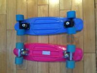 Skateboards - 2 x brand new Penny boards
