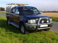 Ford Ranger Thunder. Dec 04 (54 plate) only 77k miles FSH.