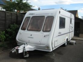 rallye compass 2001 2 berth with motor mover and pouch awning