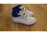 Girls Mini Boden High top trainers - Size 31 (12)